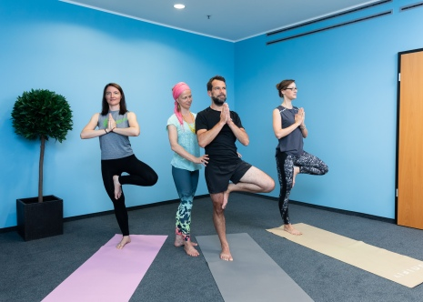 Yoga im Office